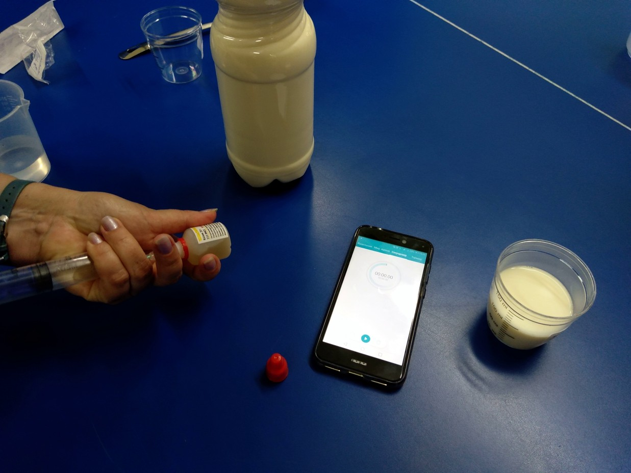 Как рассчитать количество молокосвертывающего фермента на небольшое количество молока