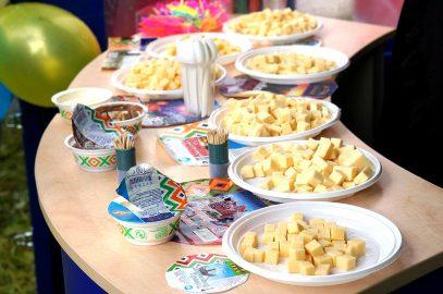 Фестиваль сыра в Костроме.
