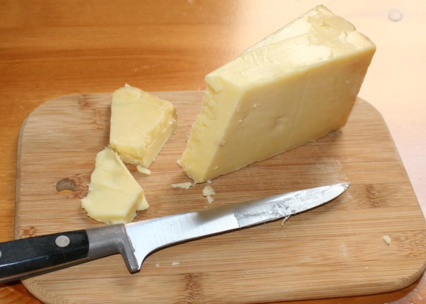 Рецепт сыра Чеддер в домашних условиях